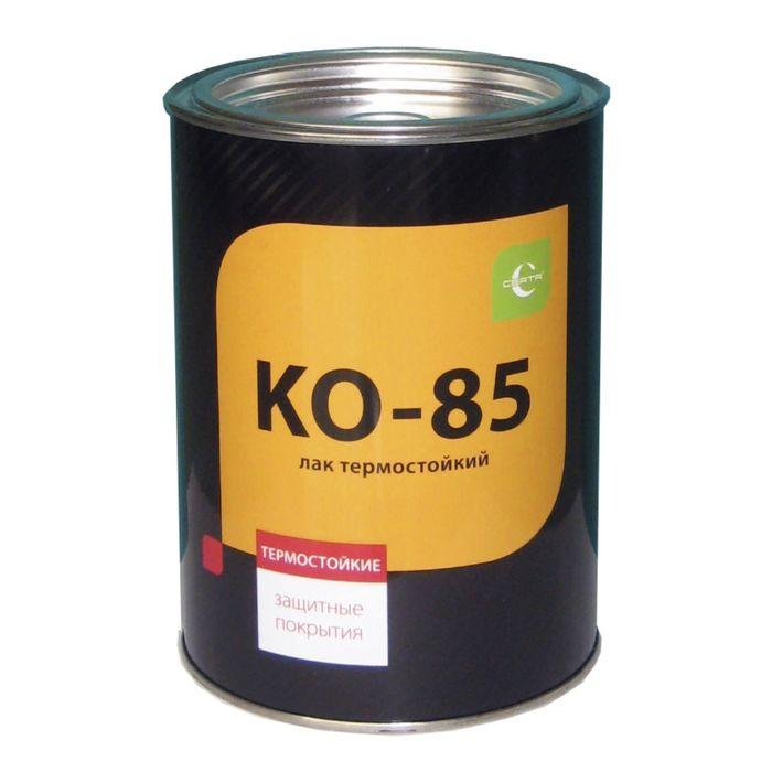 Лак термостойкий КО-85, до 250 °С, 0,7 кг, ж/б