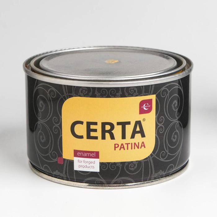 Эмаль для кузнечных и дизайнерских работ «Церта-Патина», ж/б, 0,08кг, золото