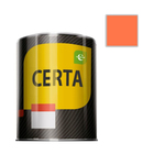 Эмаль термостойкая «Церта», ж/б, до 400 °С, 0,8 кг, оранжевая