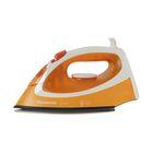 Утюг Panasonic NI-P200TTTW, 1550 Вт, вертикальное отпаривание, титановая подошва, оранжевый   244255