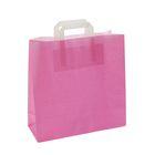 """Пакет крафт """"Розовый"""", 32 х 12 х 32 см"""