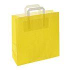 """Пакет крафт """"Жёлтый"""", 32 х 12 х 32 см"""