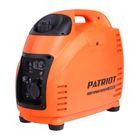 Генератор инверторный PATRIOT 2000i, 220В, 1.8 кВт, 3.6 л