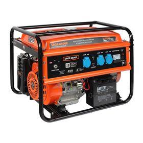 Генератор бензиновый PATRIOT Max Power SRGE 6500E, 13 л.с., 220В, 5.5 кВт, 25 л