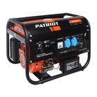 Генератор бензиновый PATRIOT GP 3510E, 7л.с, 2.8 кВт, 220В, 15л