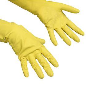 Перчатки Vileda Контракт для профессиональной уборки, размер XL, цвет жёлтый