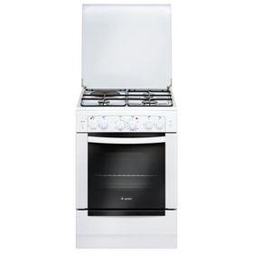 Плита комбинированная Gefest 6111-02, 3 газовые и 1 электрическая конфорки, 55 л, белая