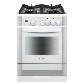 Плита газовая Gefest 6500-03 0042, 4 конфорки, 52 л, газовая духовка, белая