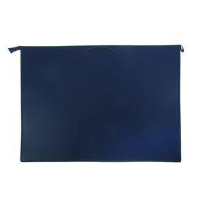 Папка А1, с ручками, пластиковая, молния сверху, 900 х 655 х 50 мм, «Оникс», ПР 4 -8, внутренний карман, цвет синий