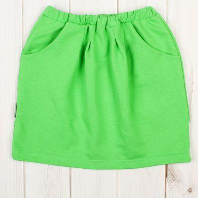 """Юбка для девочки """"Тюльпан"""", рост 110-116 см, цвет салатовый 1017"""