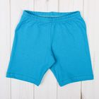 Бриджи для девочки, рост 110-116 см, цвет голубой 1038