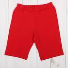 Бриджи для девочки, рост 158-164 см, цвет красный 1038