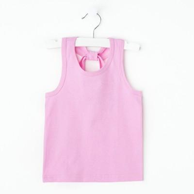 """Майка для девочки """"Мария"""", рост 98-104 см, цвет розовый 1052"""