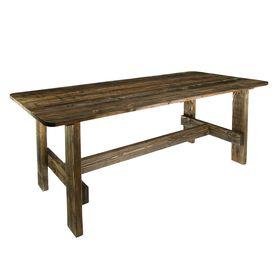 """Стол к набору """"Дачный"""" 120 см, сосна брашированный"""