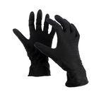"""Перчатки нитриловые, размер M, """"Стандарт"""", 100 шт, цвет чёрный"""