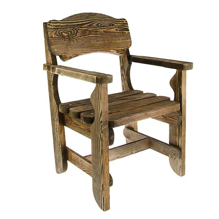 """Кресло """"Разбойник"""", натуральная сосна брашированное"""