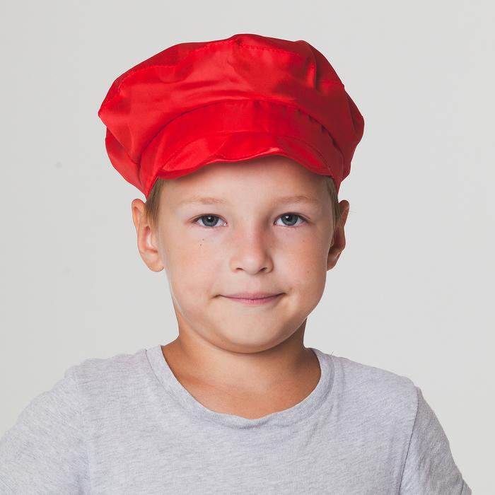 Фуражка, цвет красный   КС34.2