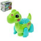 """Развивающая игрушка """"Динозавр"""", двигается, световые и звуковые эффекты, МИКС"""