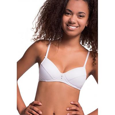 Бюстгальтер подростковый, размер 75A, цвет белый TBC 122