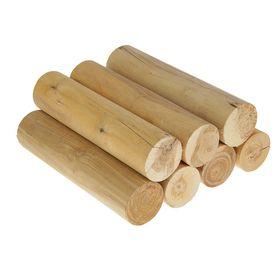 Дрова березовые оцилиндрованные в сетке 30 см. по 7 шт.