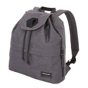 Рюкзак Wenger 13, cерый, ткань Grey Heather/полиэстер, 600D PU, 39 х 13 х 33 см, 16 л