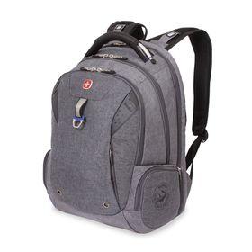 Рюкзак Wenger 15, серый, ткань Grey Heather/полиэстер, 900D PU, 47 х 34 х 20, 31 л