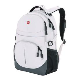 Рюкзак Wenger, серый, полиэстер, 45 х 15 х 33 см, 22 л