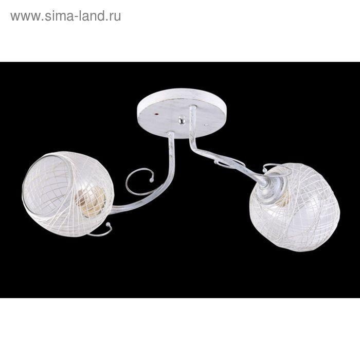 "Люстра ""Вилла"" 2 лампы Е27 60Вт белый"
