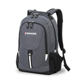 Рюкзак Wenger, серый/чёрный, полиэстер 600D, 45 х 14 х 32 см, 20 л