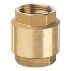 """Обратный клапан STOUT, 1""""1/4, пружинный, муфтовый, с металлическим седлом, SVC-0002-000032"""