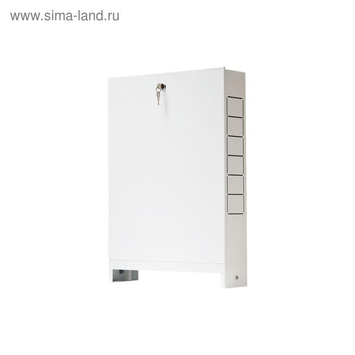 Шкаф распределительный STOUT, встроенный, 4-5 выходов, 670х125х496, SCC-0002-000045