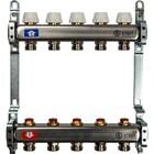 Коллектор STOUT, нержавеющая сталь без расходомеров 5 выходов