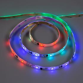 """Умная светодиодная лента Uniel """"Бегущий огонь"""" 12В, SMD5050, 5 м, IP65, 7.2Вт/м, 30 LED/м, RGB"""