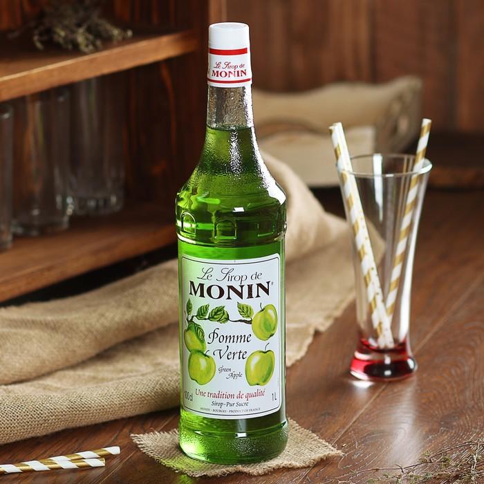 Сироп Monin Зелёное яблоко, 1 л