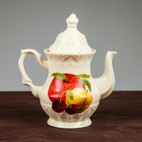 Чайник заварочный 'Монарх' 0,5 л, фрукты, микс Ош