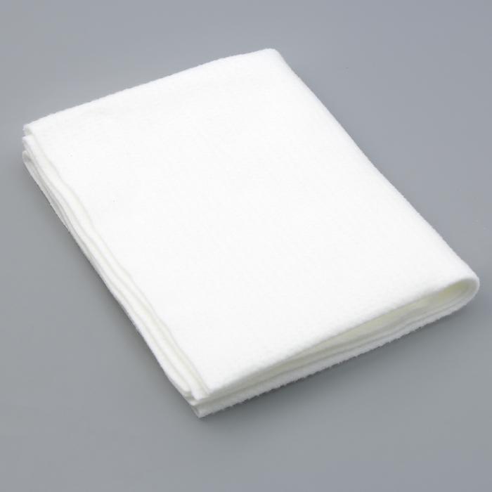 Полотно под чехол для гладильной доски 130×52 см, цвет белый - фото 4636336