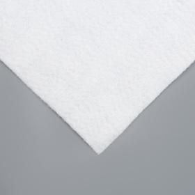 Полотно под чехол для гладильной доски 130×52 см, цвет белый - фото 4636337