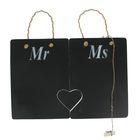 """Грифельная доска """"Mr and Ms"""" 41х28 см"""