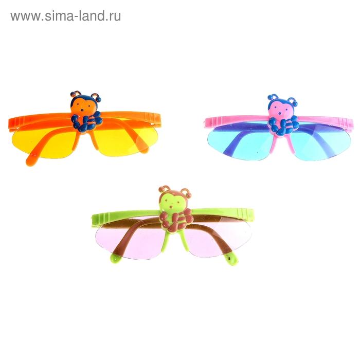 "Очки детские ""Пчелка"", цвета МИКС"