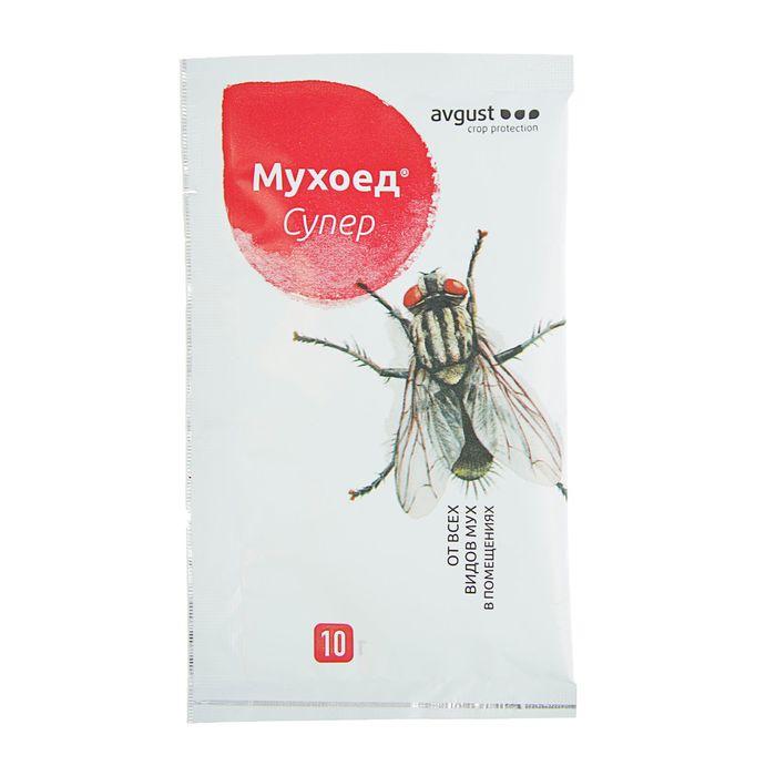 Средство от мух Мухоед Супер, гранулы, 10 г