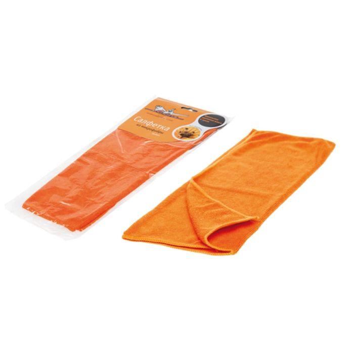 Салфетка из микрофибры оранжевая 35*40 см Airline AB-A-02
