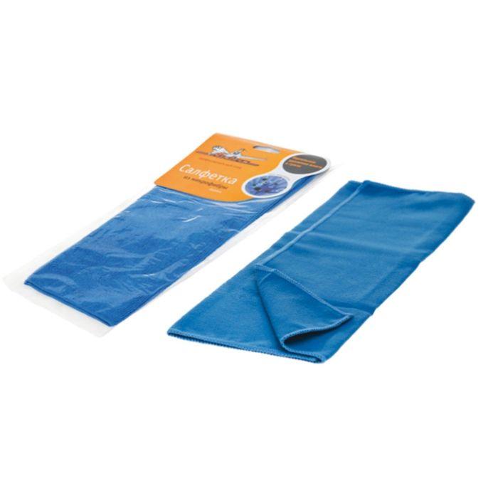 Салфетка из микрофибры синяя 35*40 см Airline AB-A-03