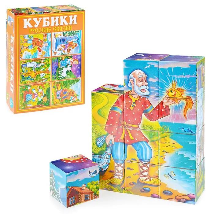 Кубики в картинках 25 «Русские сказки» - фото 105599617