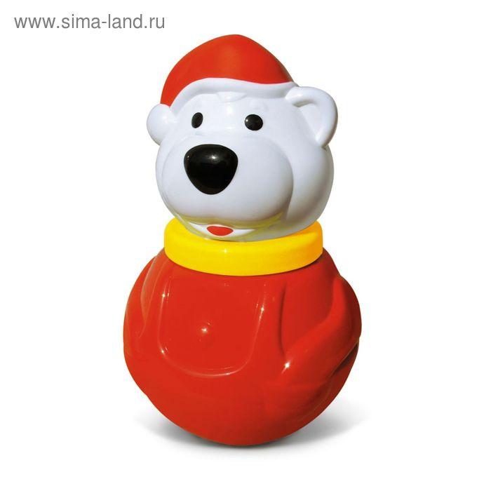 """Неваляшка малая """" Белый медведь-2"""""""