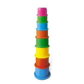 Развивающая игрушка «Занимательная пирамидка», МИКС