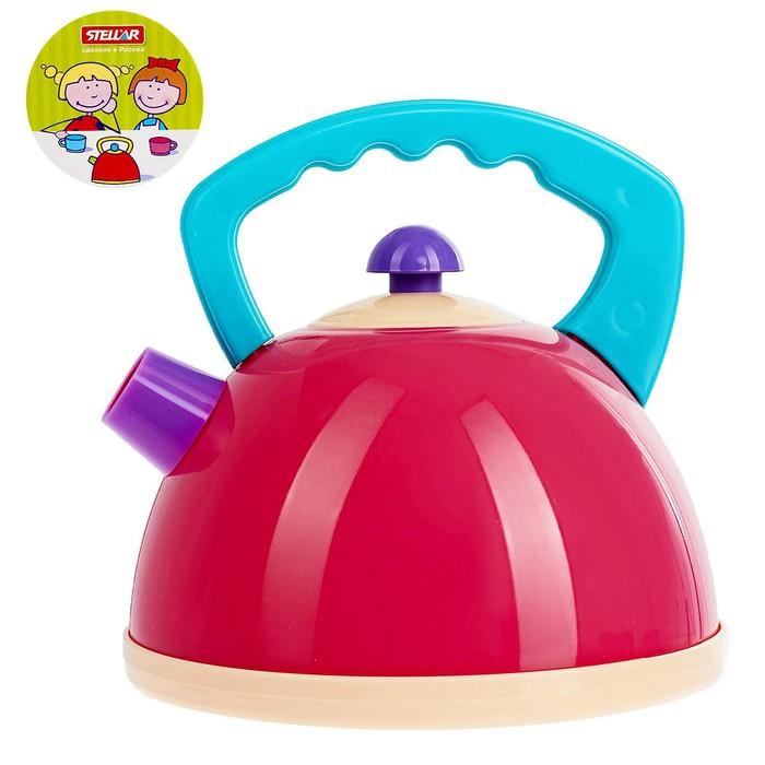 Посуда детская «Чайник», цвета МИКС - фото 105580674