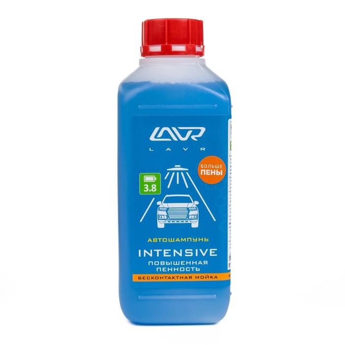 Автошампунь LAVR Intensive бесконтакт, повышенная пенность 1:50, 1 л, бутылка