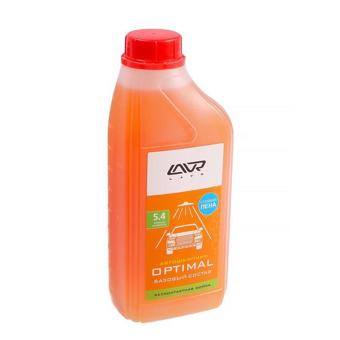 Автошампунь LAVR Optimal бесконтакт, 1:60, 1 л, бутылка