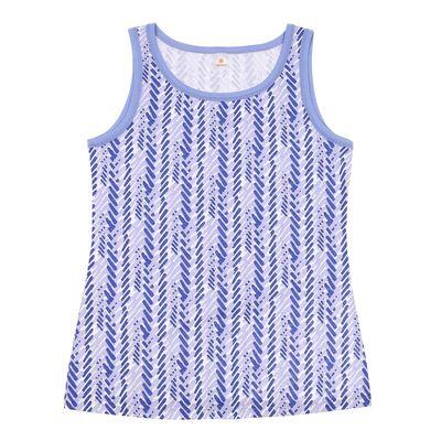 Майка женская Р108281, цвет голубой, рост 158-164 см, р-р 50 (100)