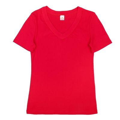 Футболка  женская Р155387, цвет малиновый, рост 158-164 см, размер 58 (116)